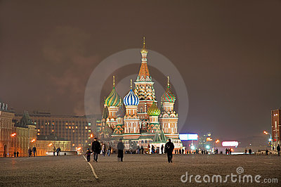St. Basil Cathedral [at night] 2