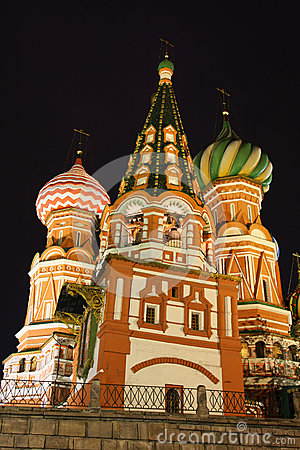 St-Basil in Moscow