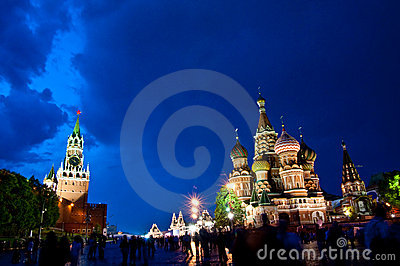 St. Basil s Cathedral Editorial Photography