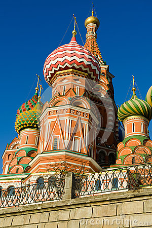 St Basil s Cathedral in Moscow Russia