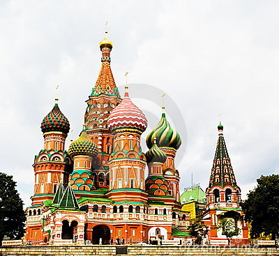 Free St Basil S Cathedral, Moscow, Russia Stock Photos - 8331323