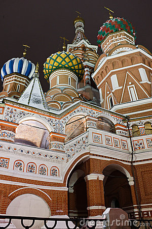 St.Basil s Cathedral on Red Square, Moscow Editorial Stock Image