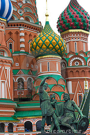 St.Basil s with statues