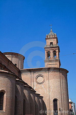 Free St. Benedetto Belltower Church. Ferrara. Emilia-Romagna. Italy. Stock Photography - 23308532