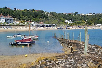 St. Brelade Harbour and Beach, Jersey