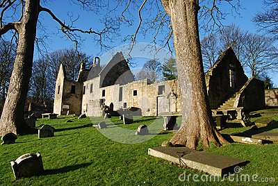 St. Bridgets Kirk Remains