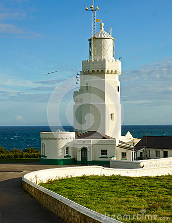 Free St. Catherine S Lighthouse, Isle Of Wight Stock Images - 27932604