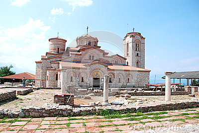 St  Clement s Church - St  Panteleimon, Ohrid, Mac Editorial Stock Photo