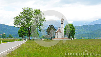 St Colomon church of Bavaria