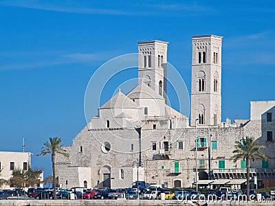 St. Corrado Cathedral in Molfetta. Apulia.