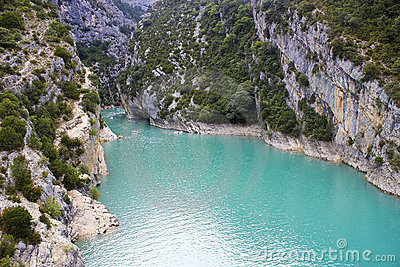 St Croix Lake, Les Gorges du Verdon in Provence