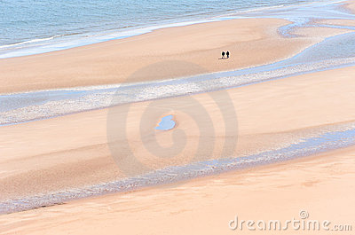 St Cyrus Beach Editorial Stock Image