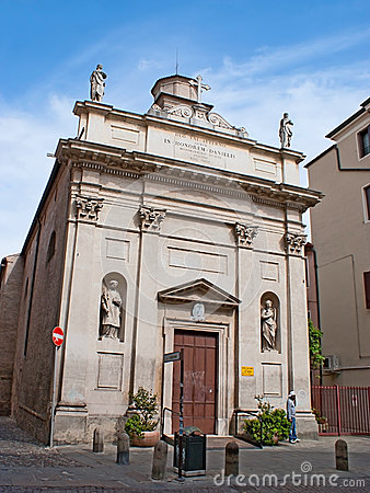 St Daniele church Editorial Image