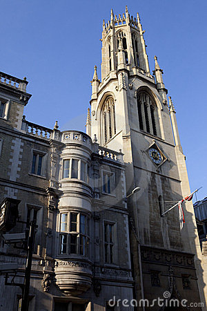 St Dunstan-in-the-West Church in London