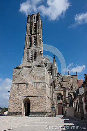 St. Etienne s cathedral in Limoges