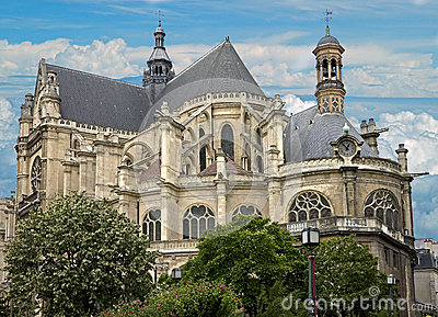 St. Eustache cathedral 2