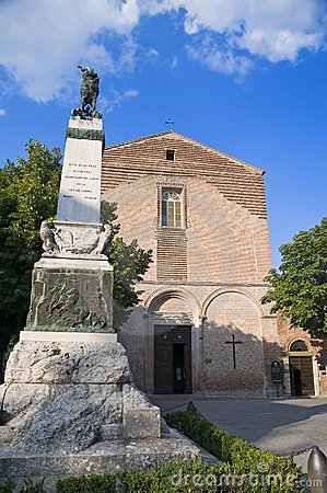 Free St. Francesco Church. Citta  Della Pieve. Umbria. Royalty Free Stock Images - 15758139