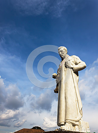Free St. Francis Xavier Statue, Malacca Stock Photography - 28473962