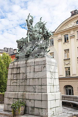St. George and the Dragon, Stockholm