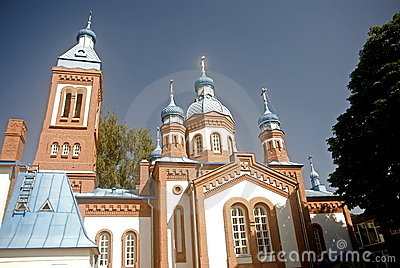 St. George orthodox church, Bauska, Lithuania