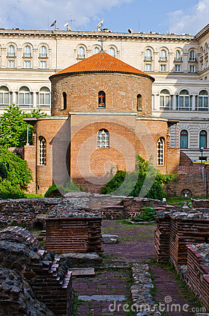 Free St George Rotunda, Sofia, Bulgaria Royalty Free Stock Photos - 32626088