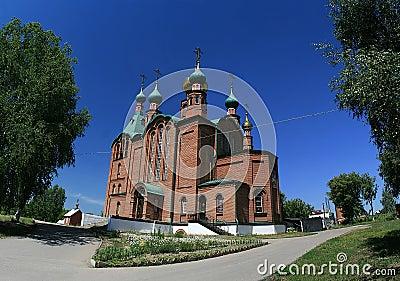 St. George s Church in Novoaltajsk, Altai Territor