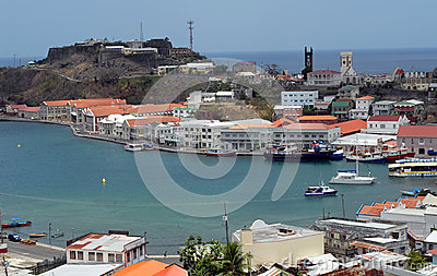 St Georges  Grenada Editorial Photography