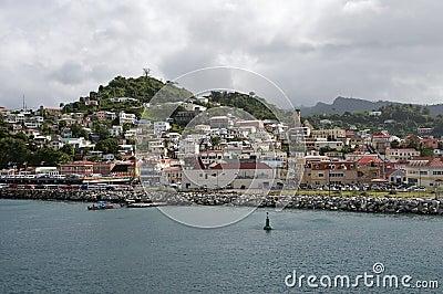 St. Georges Grenada.