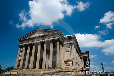 St Georges Hall in liverpool, England
