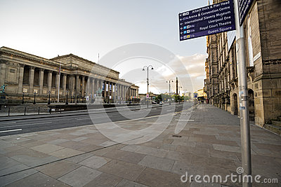 St. Georges Hall Liverpool