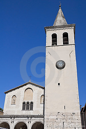 Free St. Gregorio Maggiore Church. Spoleto. Umbria. Stock Photography - 15667882