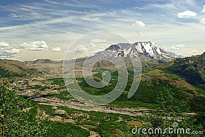 St Helens Volcano