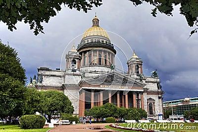 St. Isaac Kathedraal, heilige-Petersburg, Rusland.