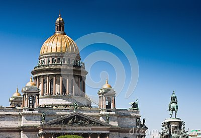 St Isaac s Cathedral and Monument Nicolas I