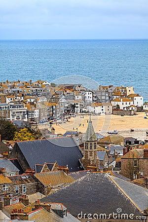 St. Ives Cornwall, het UK