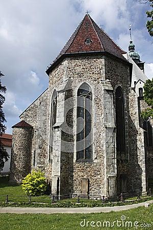St. James church in Jihlava