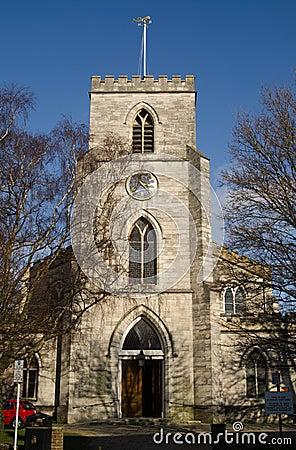 St James kościół, Poole