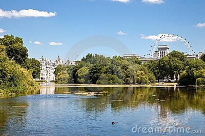 St James park London England Editorial Stock Photo