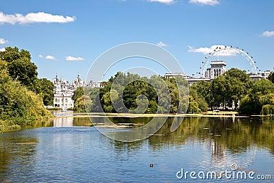 St James park London England Editorial Stock Photo