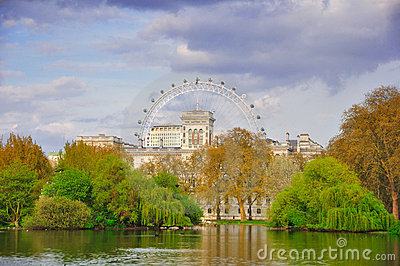 St James's Park, London Editorial Image