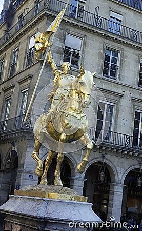 St Joan Of Arc, Paris, France