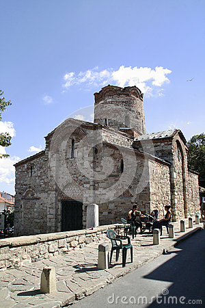 St. John the Baptist Church in Nessebar, Bulgaria Editorial Stock Image
