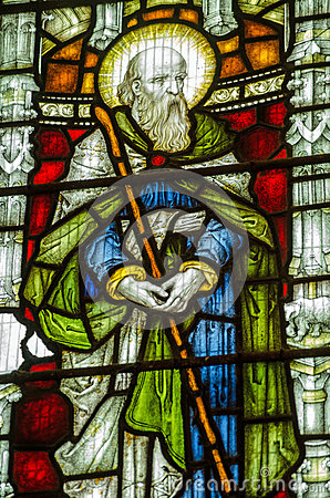 St John the Baptist Stained Glass Window