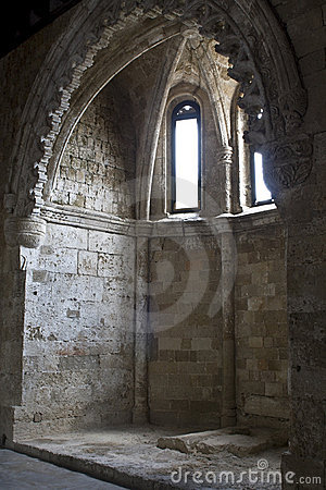 Free St John Castle Interior At Rhodes Stock Photography - 9434342