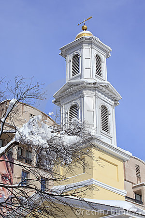 Free St. John Church Steeple President S Church DC Royalty Free Stock Photography - 18677127