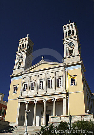 Free St.John Church - Syros Stock Photo - 3298880