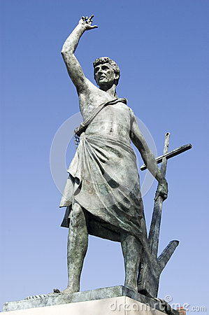 St John the Evangelist statue, Portsmouth