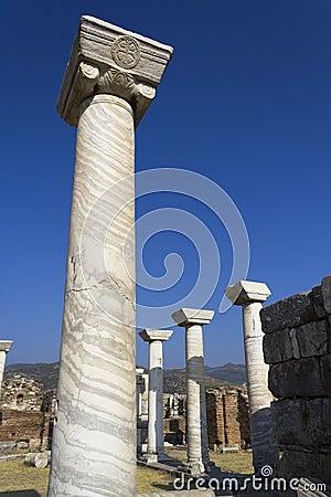 St. John historical site in Izmir