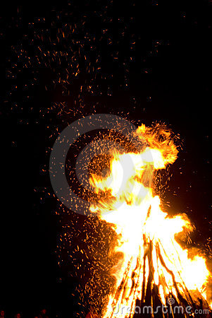 St. John s Day bonfire