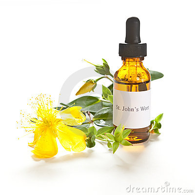 St. John s Wort tincture or extraction